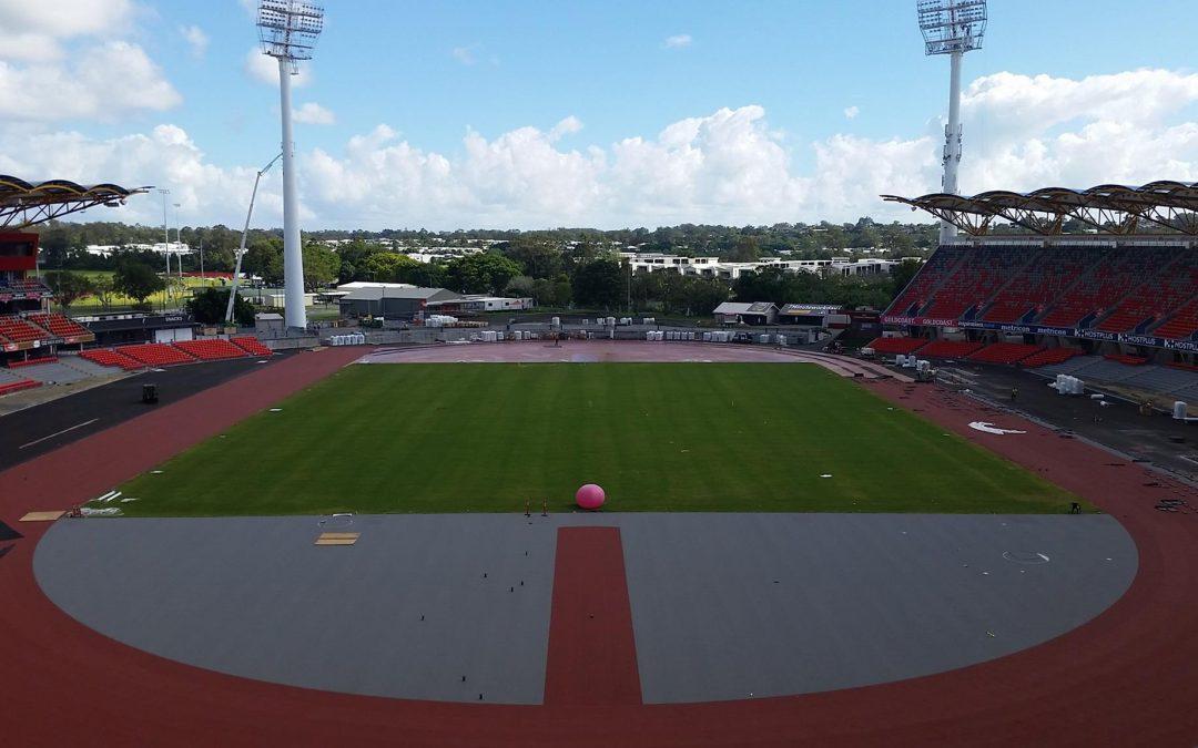 Commonwealth Games Metricon Stadium Makeover